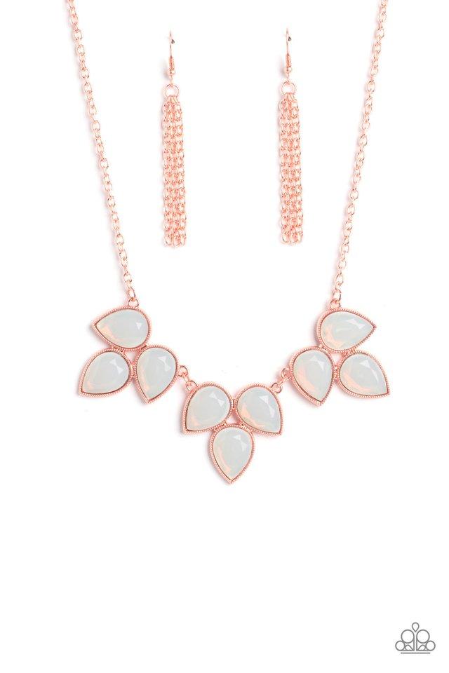 Prairie Fairytale - Copper - Paparazzi Necklace Image