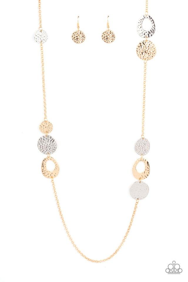 Gallery Guru - Gold - Paparazzi Necklace Image