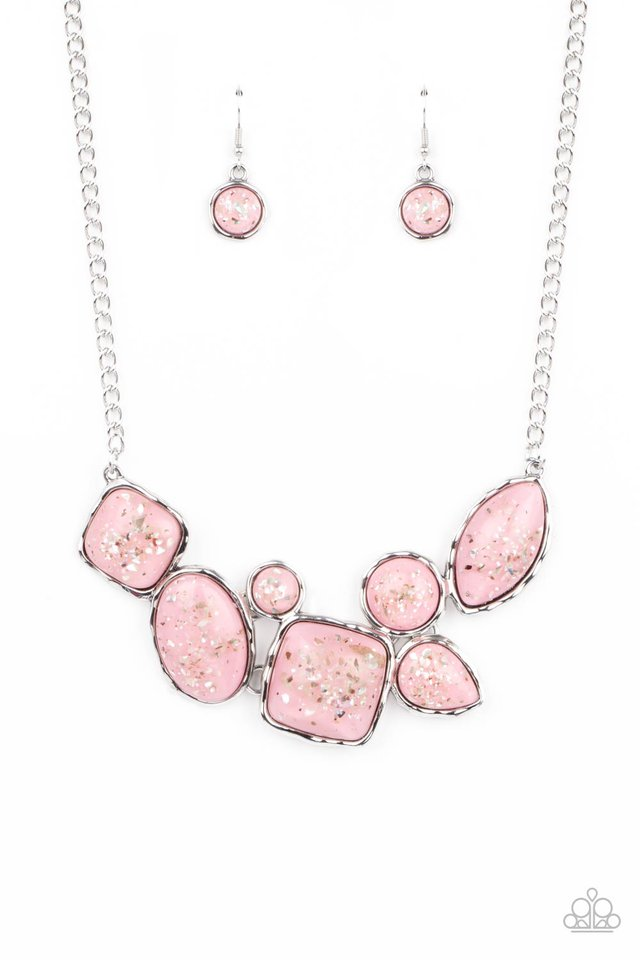 So Jelly - Pink - Paparazzi Necklace Image