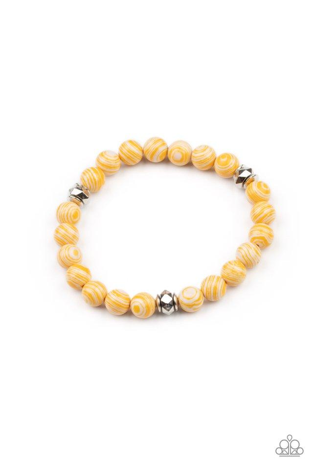 Awakened - Yellow - Paparazzi Bracelet Image