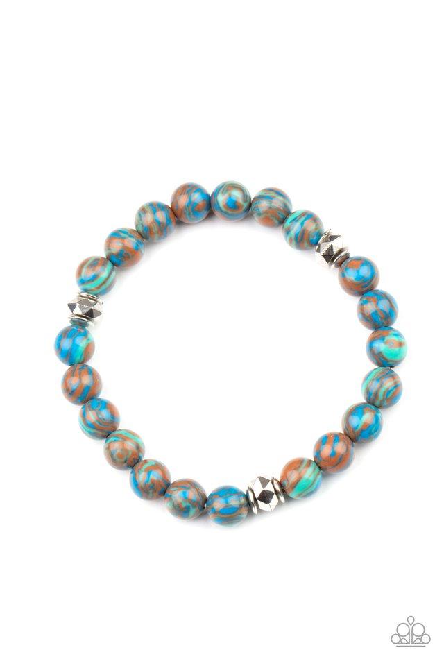 Awakened - Blue - Paparazzi Bracelet Image
