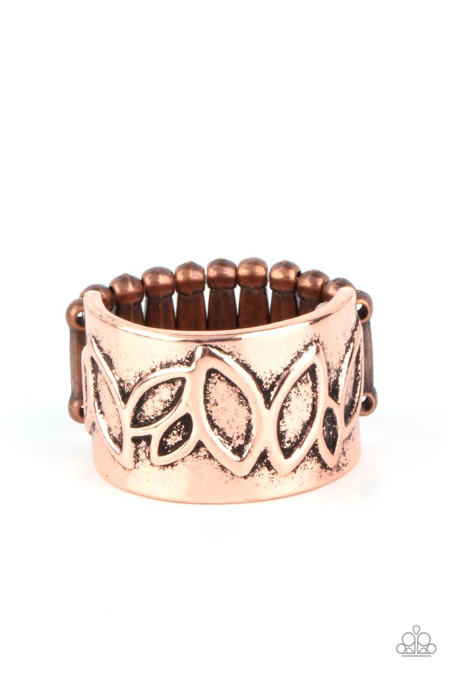 When You LEAF Expect It - Copper - Paparazzi Ring Image