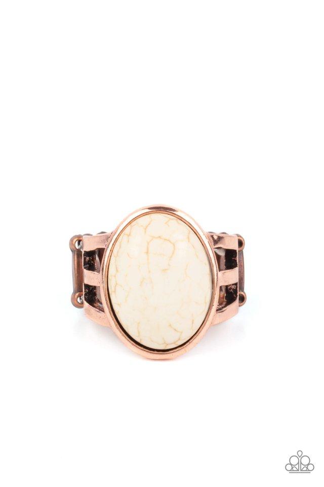 Divine Deserts - Copper - Paparazzi Ring Image