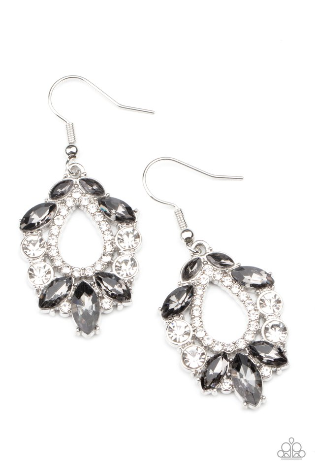 New Age Noble - Silver - Paparazzi Earring Image