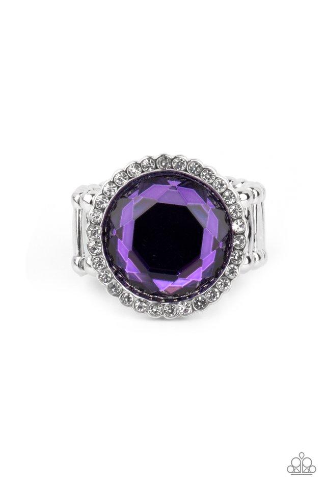 Crown Culture - Purple - Paparazzi Ring Image