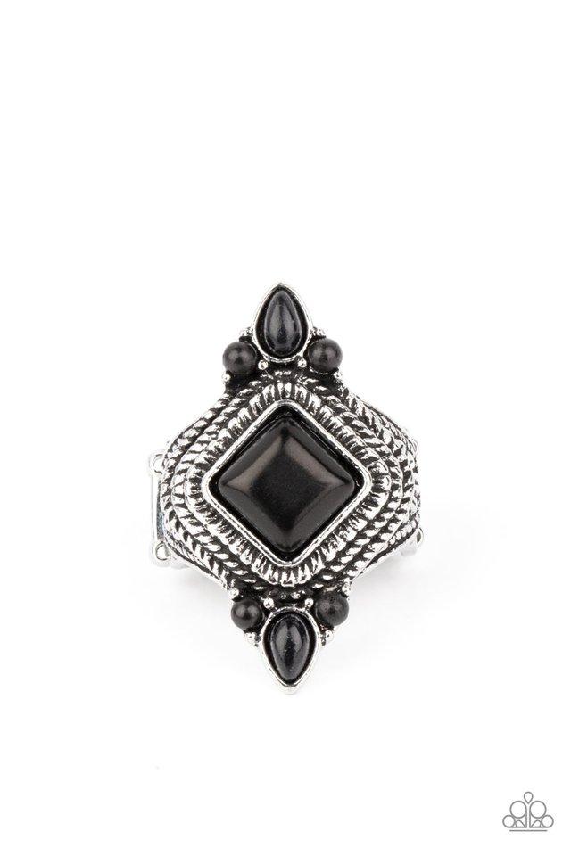 Mesa Mystic - Black - Paparazzi Ring Image