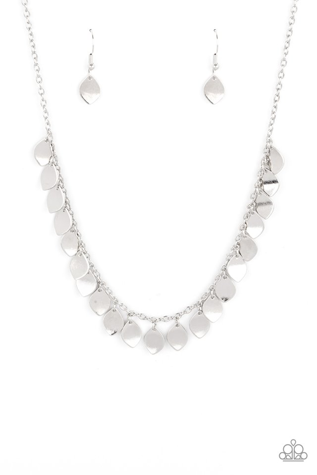 Dainty DISCovery - Silver - Paparazzi Necklace Image
