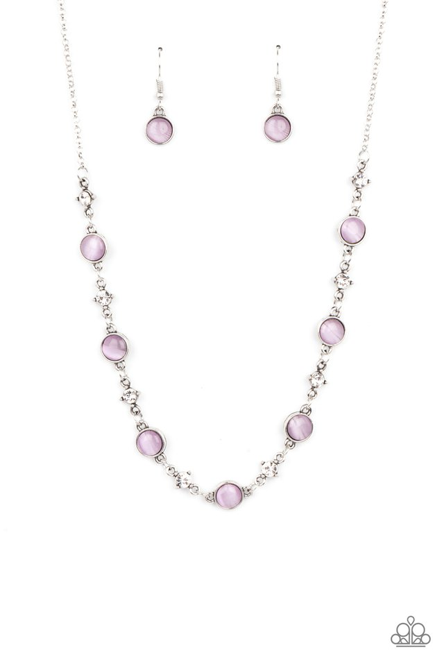 Inner Illumination - Purple - Paparazzi Necklace Image