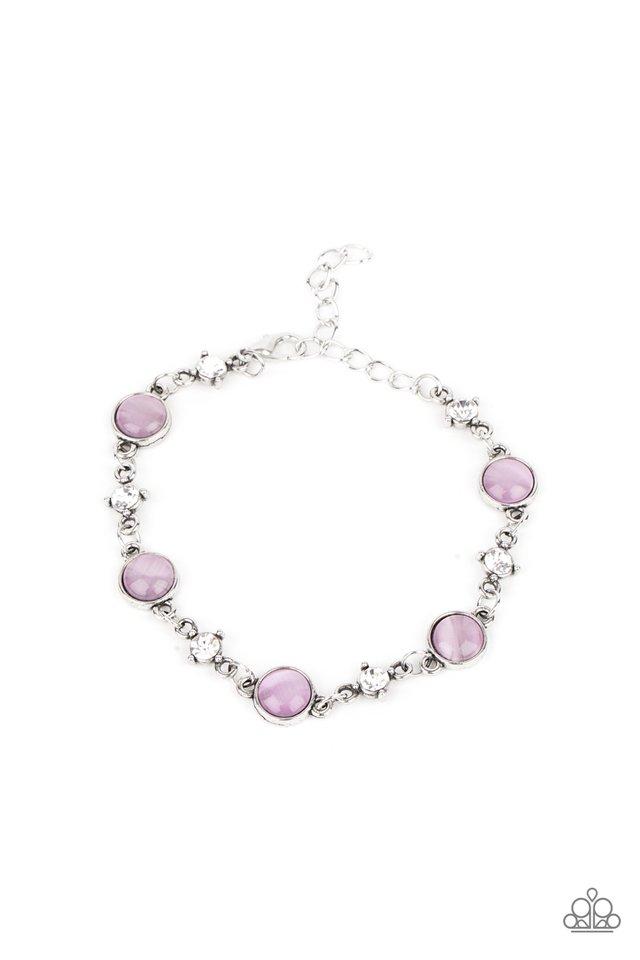 Use Your ILLUMINATION - Purple - Paparazzi Bracelet Image