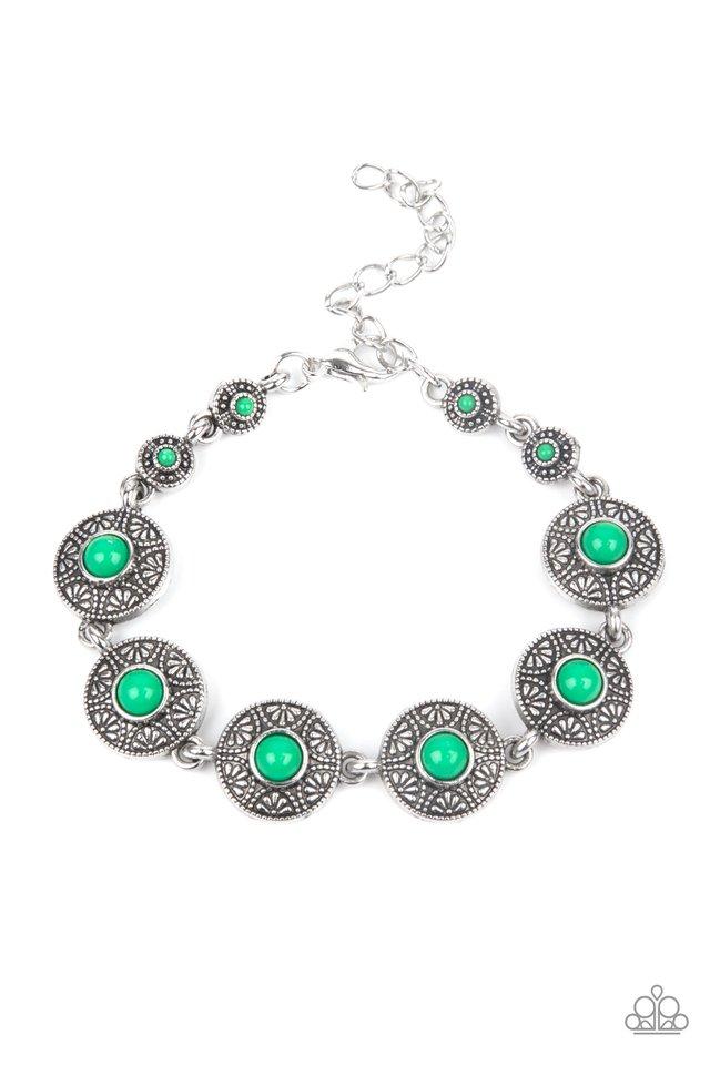 Springtime Special - Green - Paparazzi Bracelet Image