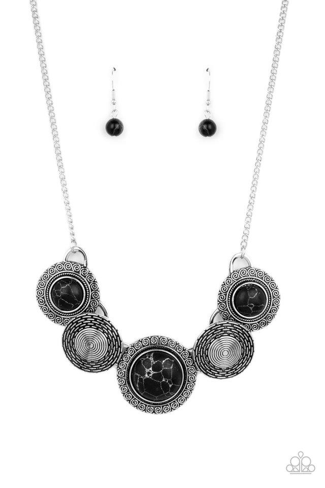 Canyon Cottage - Black - Paparazzi Necklace Image