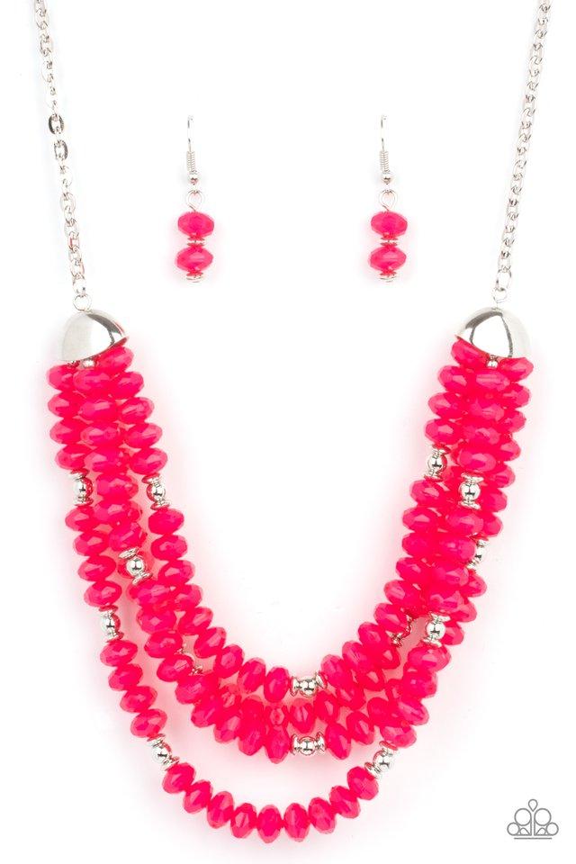 Best POSH-ible Taste - Pink - Paparazzi Necklace Image