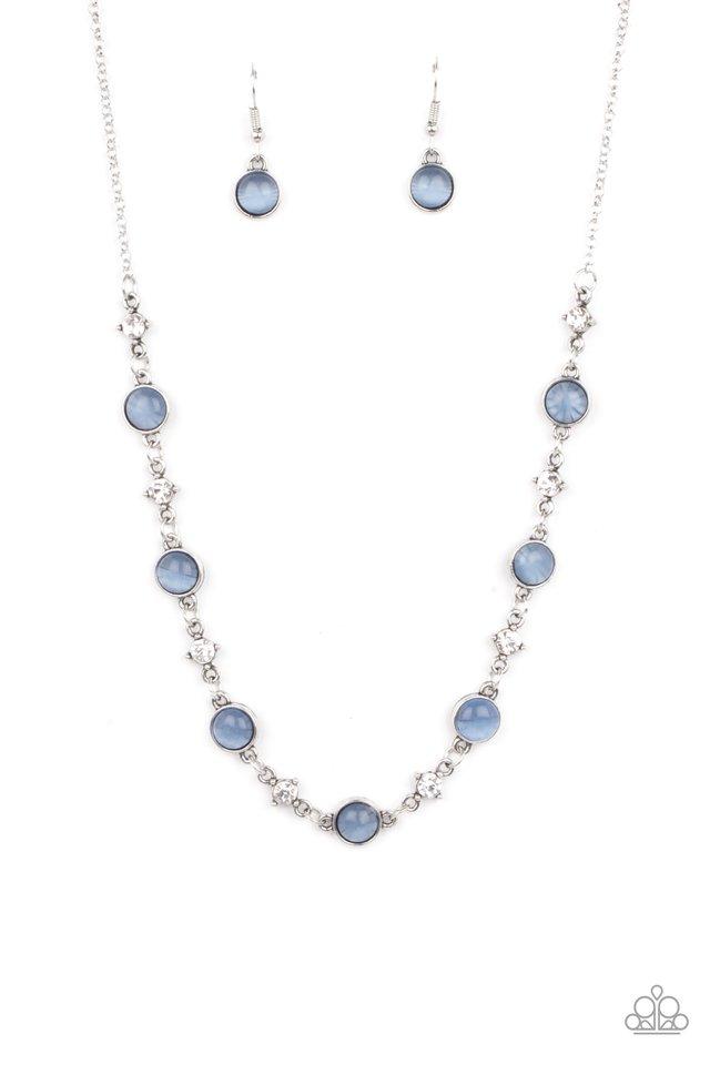 Inner Illumination - Blue - Paparazzi Necklace Image