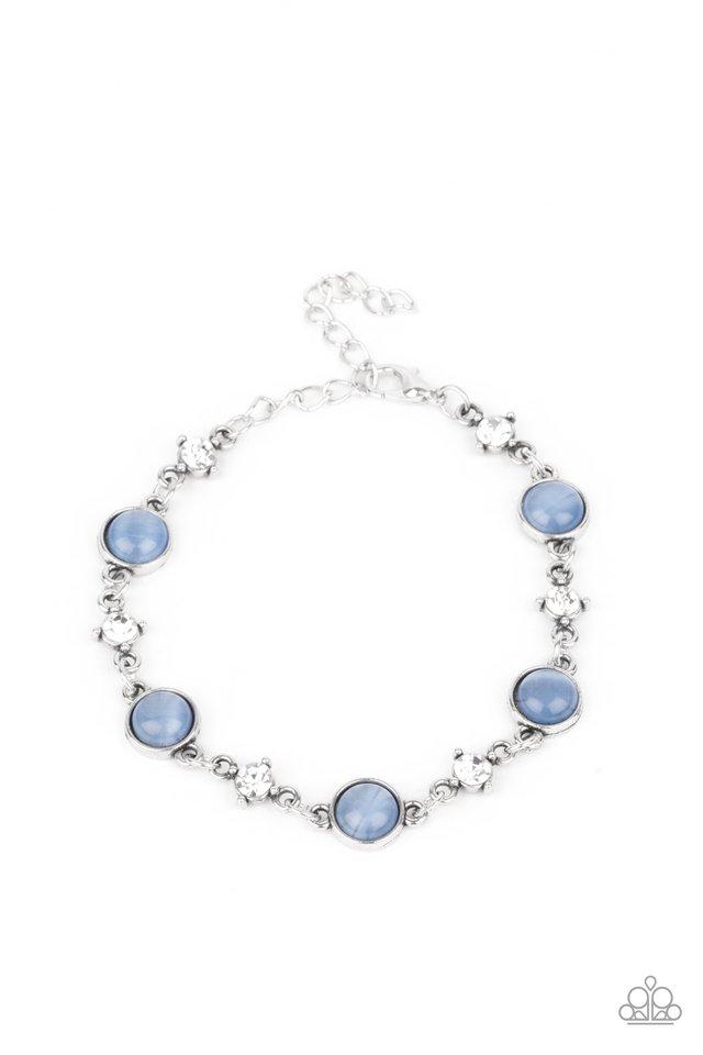 Use Your ILLUMINATION - Blue - Paparazzi Bracelet Image