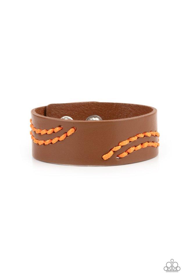 Harmonic Horizons - Orange - Paparazzi Bracelet Image