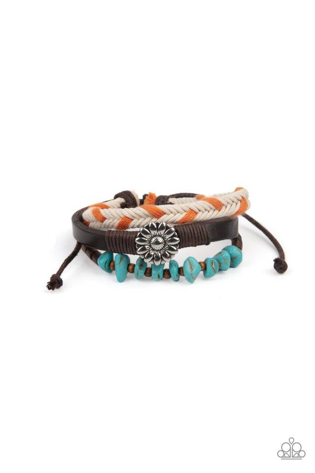 Terrain Trend - Orange - Paparazzi Bracelet Image