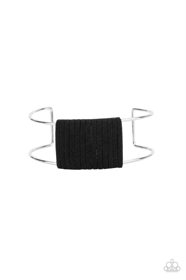 Free Expression - Black - Paparazzi Bracelet Image