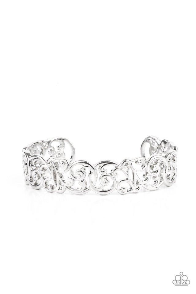 Wild Vineyards - Silver - Paparazzi Bracelet Image