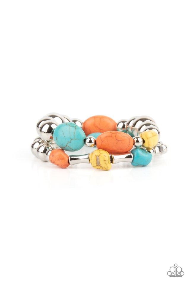 Authentically Artisan - Multi - Paparazzi Bracelet Image