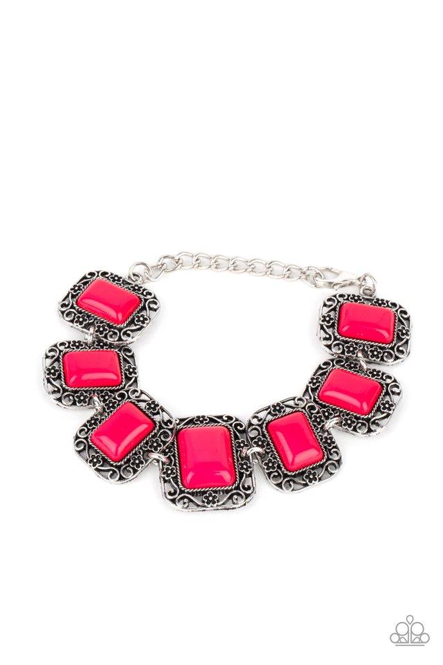 Retro Rodeo - Pink - Paparazzi Bracelet Image