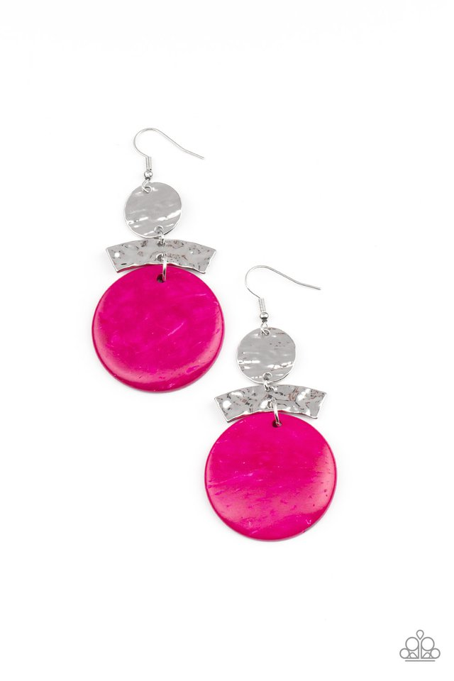 Diva Of My Domain - Pink - Paparazzi Earring Image