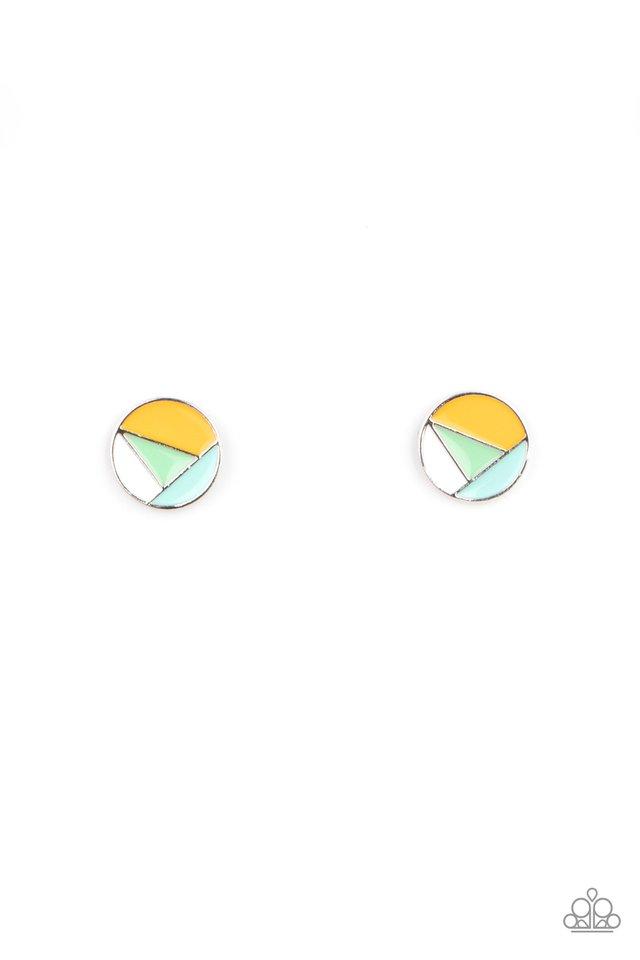 Artistic Expression - Multi - Paparazzi Earring Image