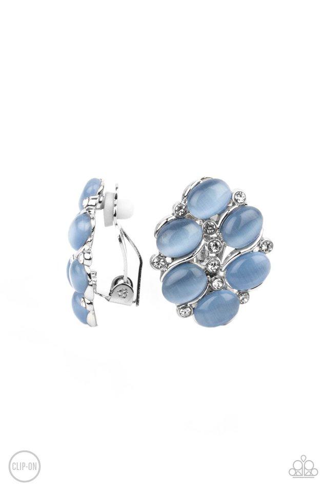 Row, Row, Row Your YACHT - Blue - Paparazzi Earring Image