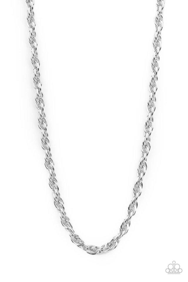 Extra Entrepreneur - Silver - Paparazzi Necklace Image