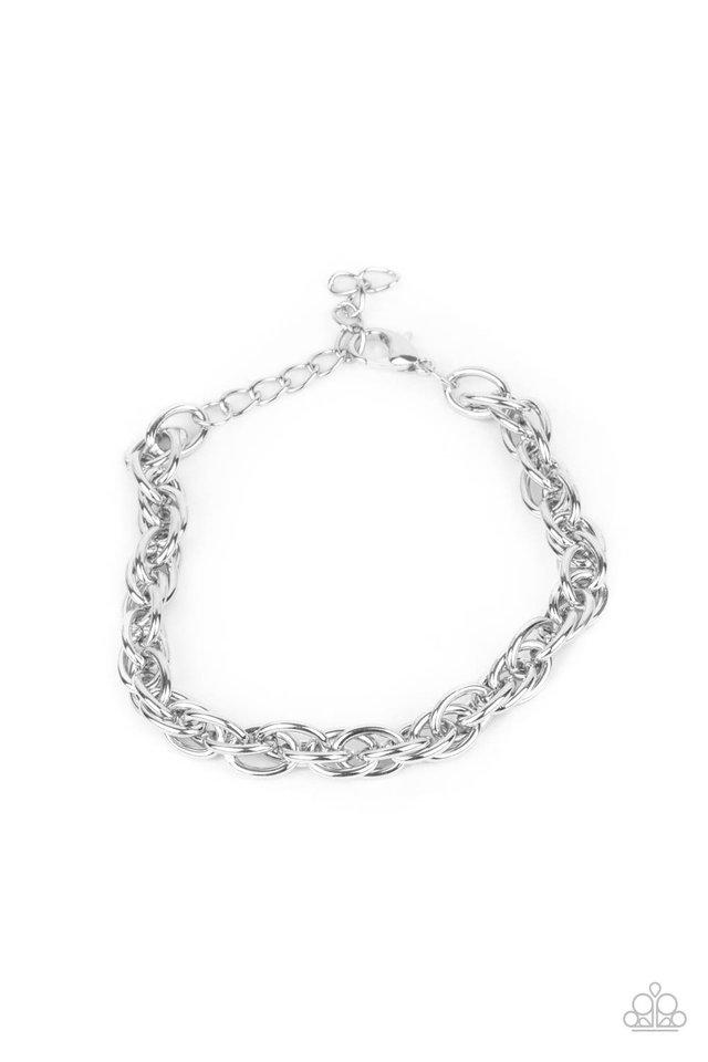 Executive Exclusive - Silver - Paparazzi Bracelet Image