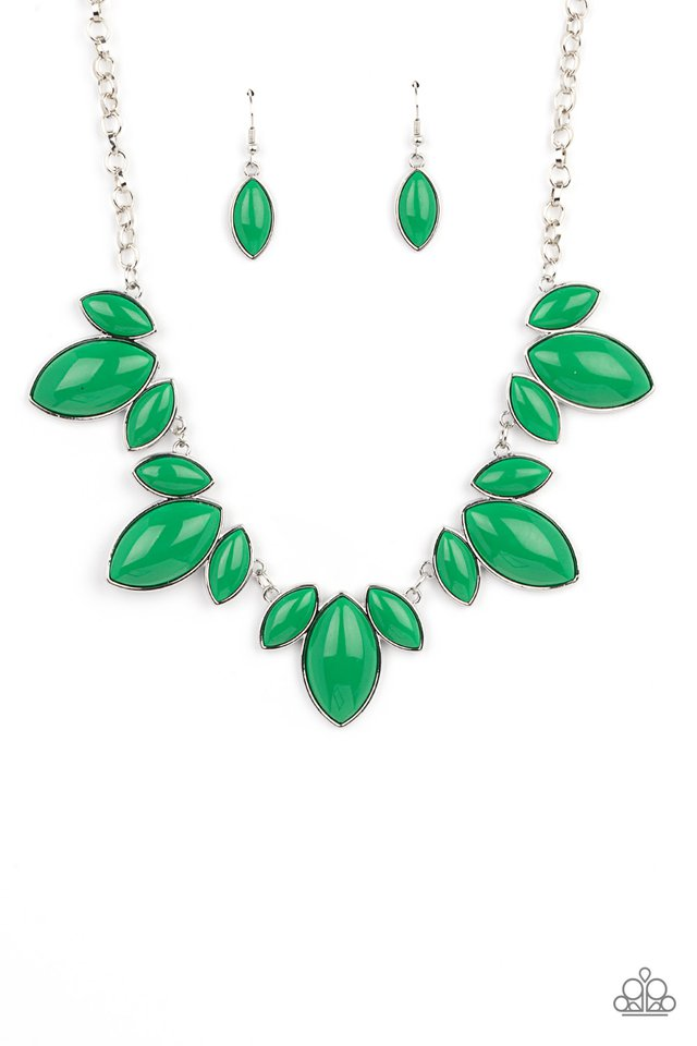 Viva La Vacation - Green - Paparazzi Necklace Image