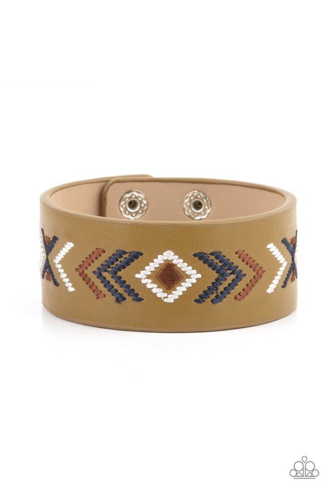 Cliff Glyphs - Multi - Paparazzi Bracelet Image