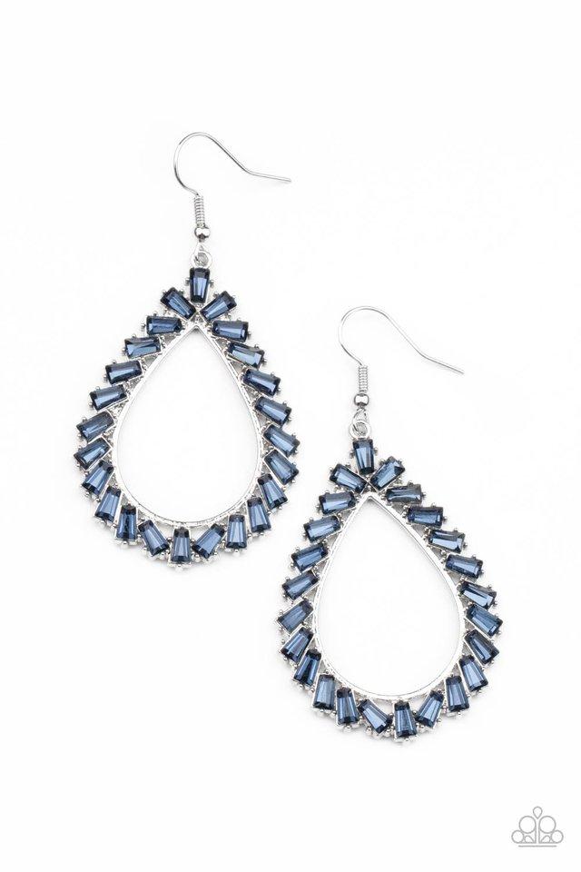 Stay Sharp - Blue - Paparazzi Earring Image