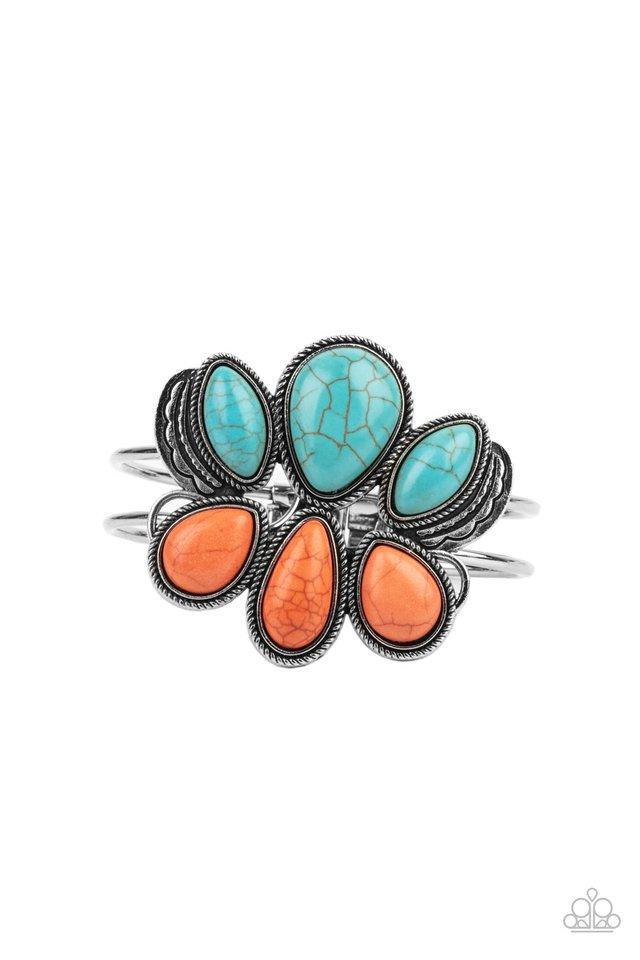 Botanical Badlands - Orange - Paparazzi Bracelet Image