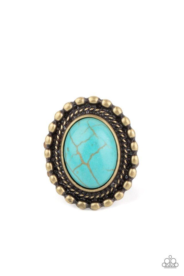 Sedona Soul - Brass - Paparazzi Ring Image