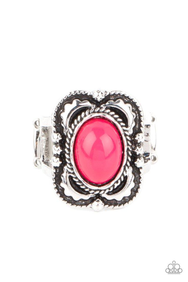 Vivaciously Vibrant - Pink - Paparazzi Ring Image