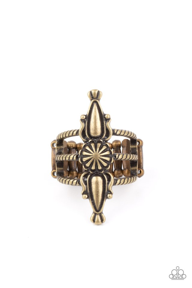Westward Expansion - Brass - Paparazzi Ring Image