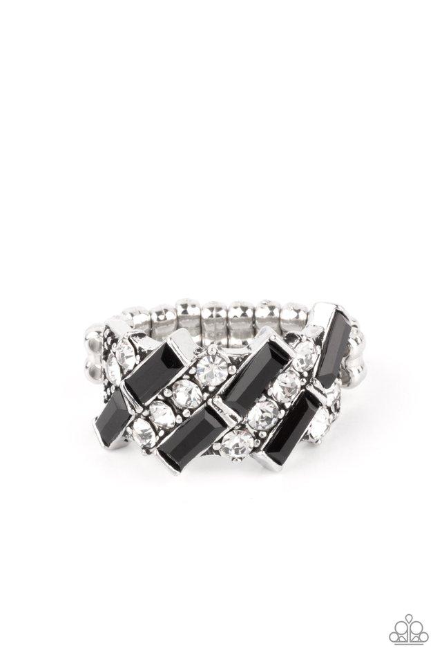 Noble Novelty - Black - Paparazzi Ring Image