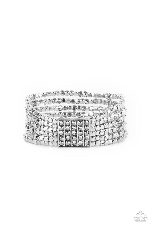 Star-Studded Showcase - Silver - Paparazzi Bracelet Image