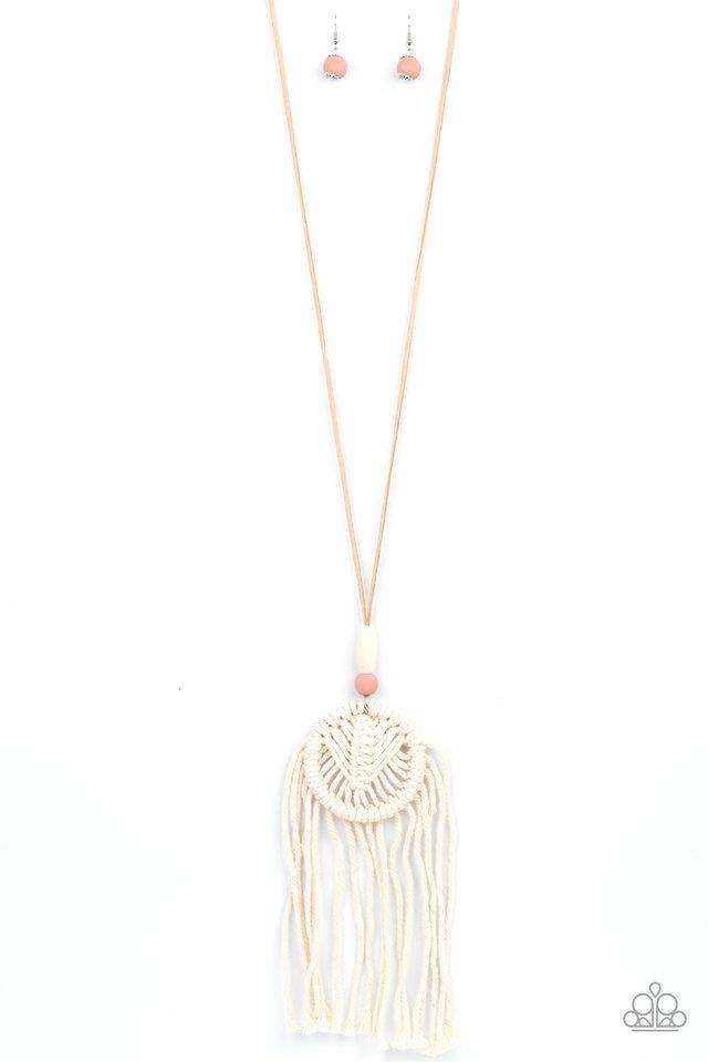 Desert Dreamscape - Pink - Paparazzi Necklace Image