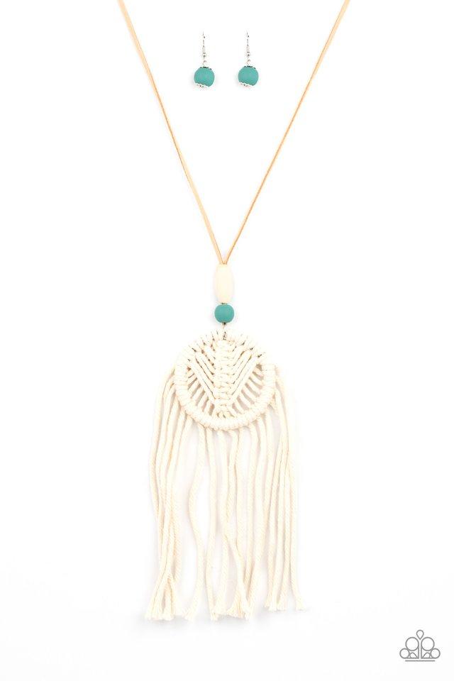 Desert Dreamscape - Blue - Paparazzi Necklace Image