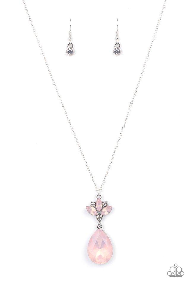 Celestial Shimmer - Pink - Paparazzi Necklace Image