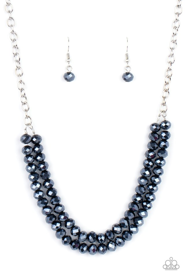 May The FIERCE Be With You - Blue - Paparazzi Necklace Image