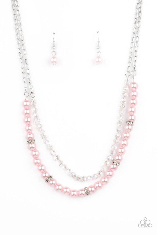 Parisian Princess - Pink - Paparazzi Necklace Image