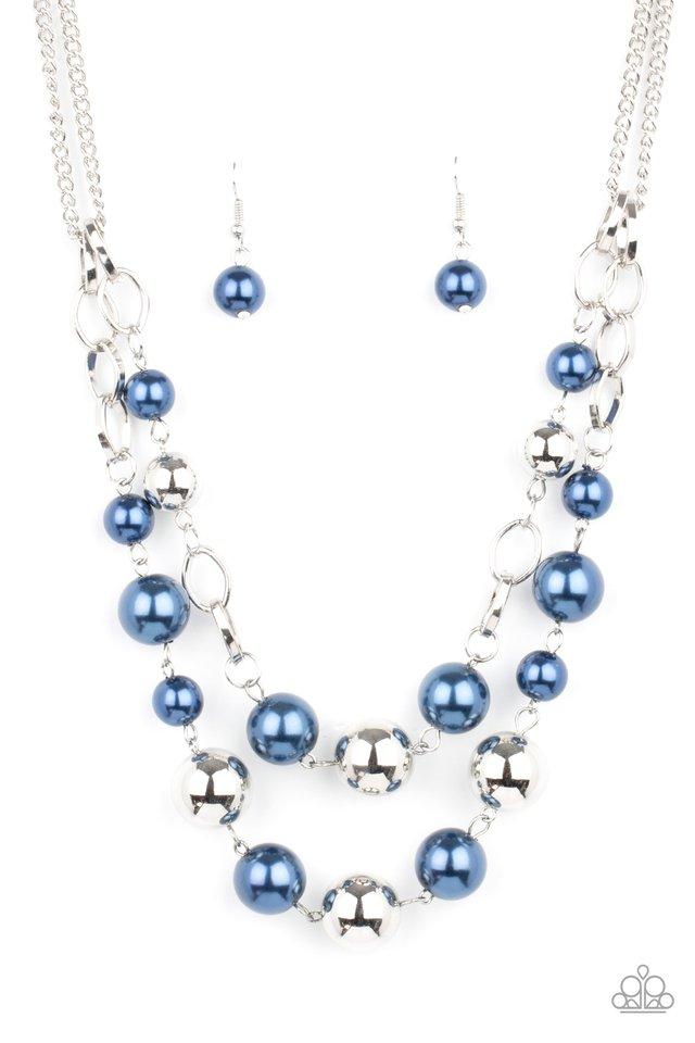 COUNTESS Your Blessings - Blue - Paparazzi Necklace Image