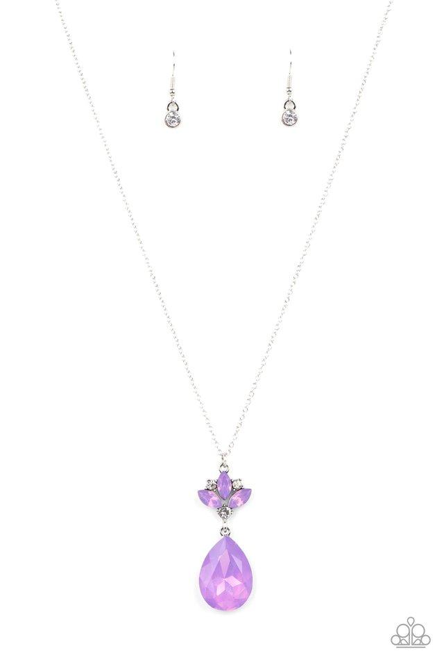 Celestial Shimmer - Purple - Paparazzi Necklace Image