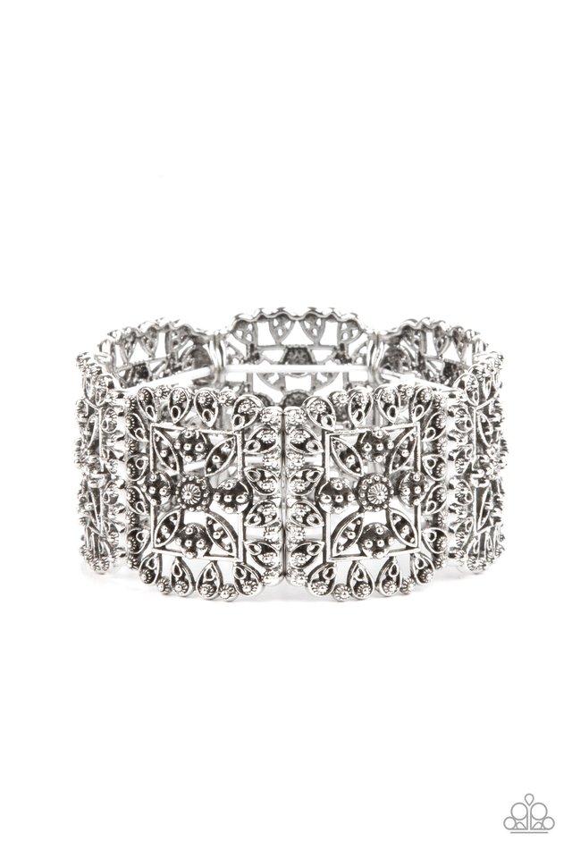 Enchanted Vineyards - Silver - Paparazzi Bracelet Image