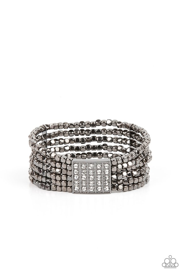 Star-Studded Showcase - Black - Paparazzi Bracelet Image