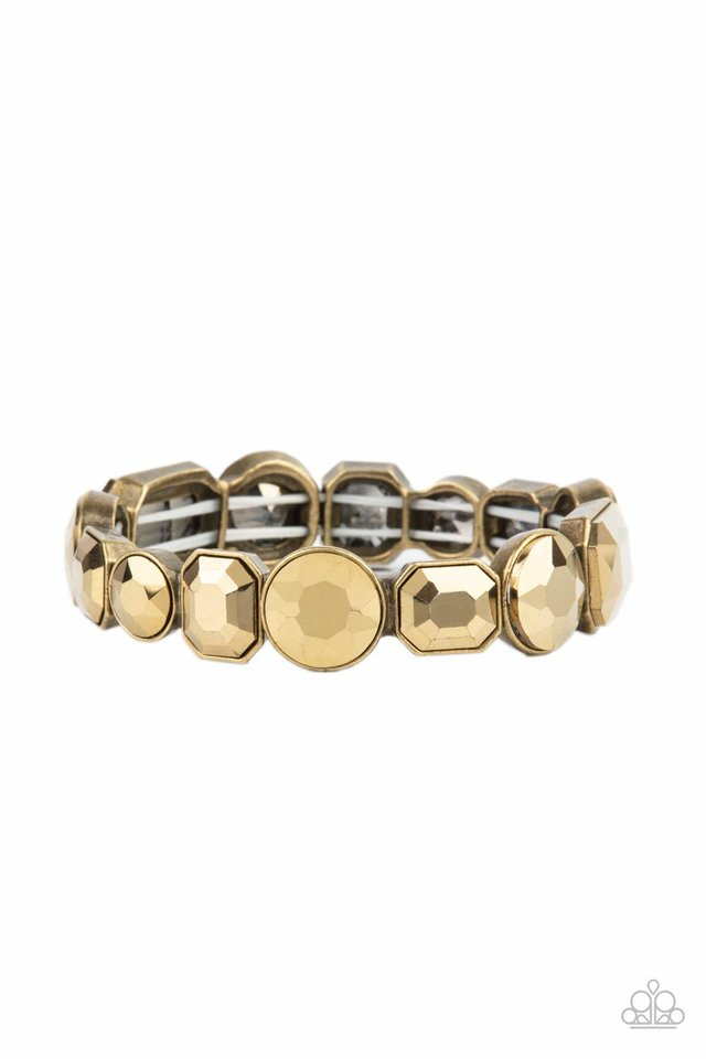 Extra Exposure - Brass - Paparazzi Bracelet Image