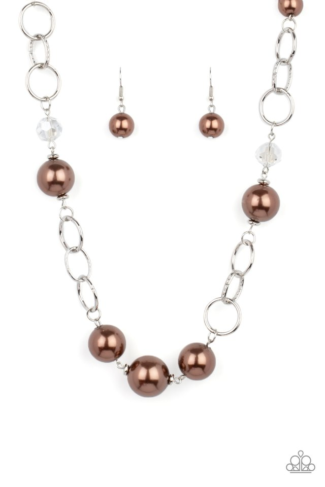 New Age Novelty - Brown - Paparazzi Necklace Image