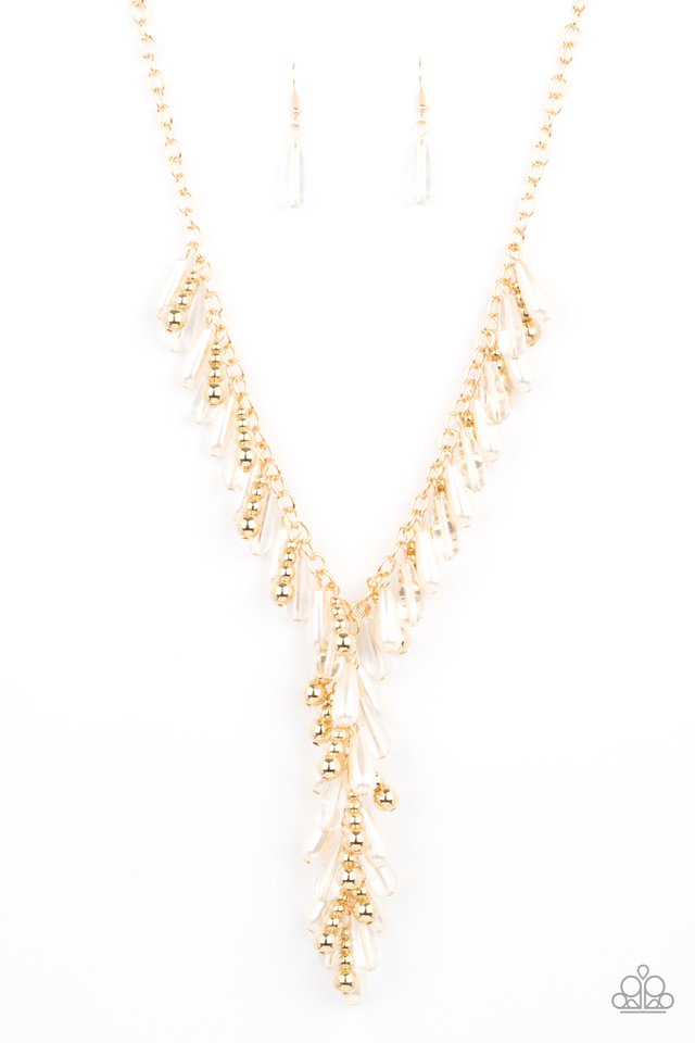 Dripping With DIVA-ttitude - Gold - Paparazzi Necklace Image